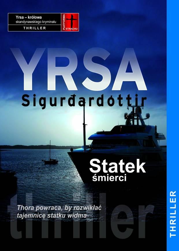 """Yrsa Sigurardottir, """"Statek śmierci"""", Muza (materiały prasowe)"""