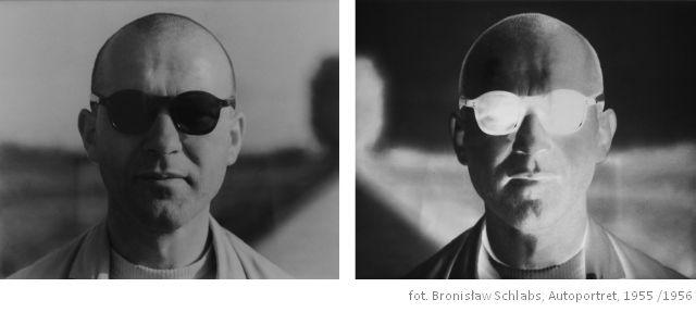 Fot. Bronisław Schlabs, Autoportret, 1955; 1956 (źródło: materiały prasowe organizatora)