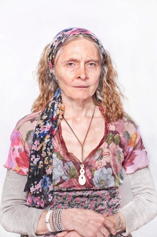 """Katarzyna Majak, """"Joanna – prowadzi kręgi i ceremonie dla kobiet"""", z cyklu """"Kobiety Mocy"""", dzięki uprzejmości artystki i galerii Porter Contemporary NY"""
