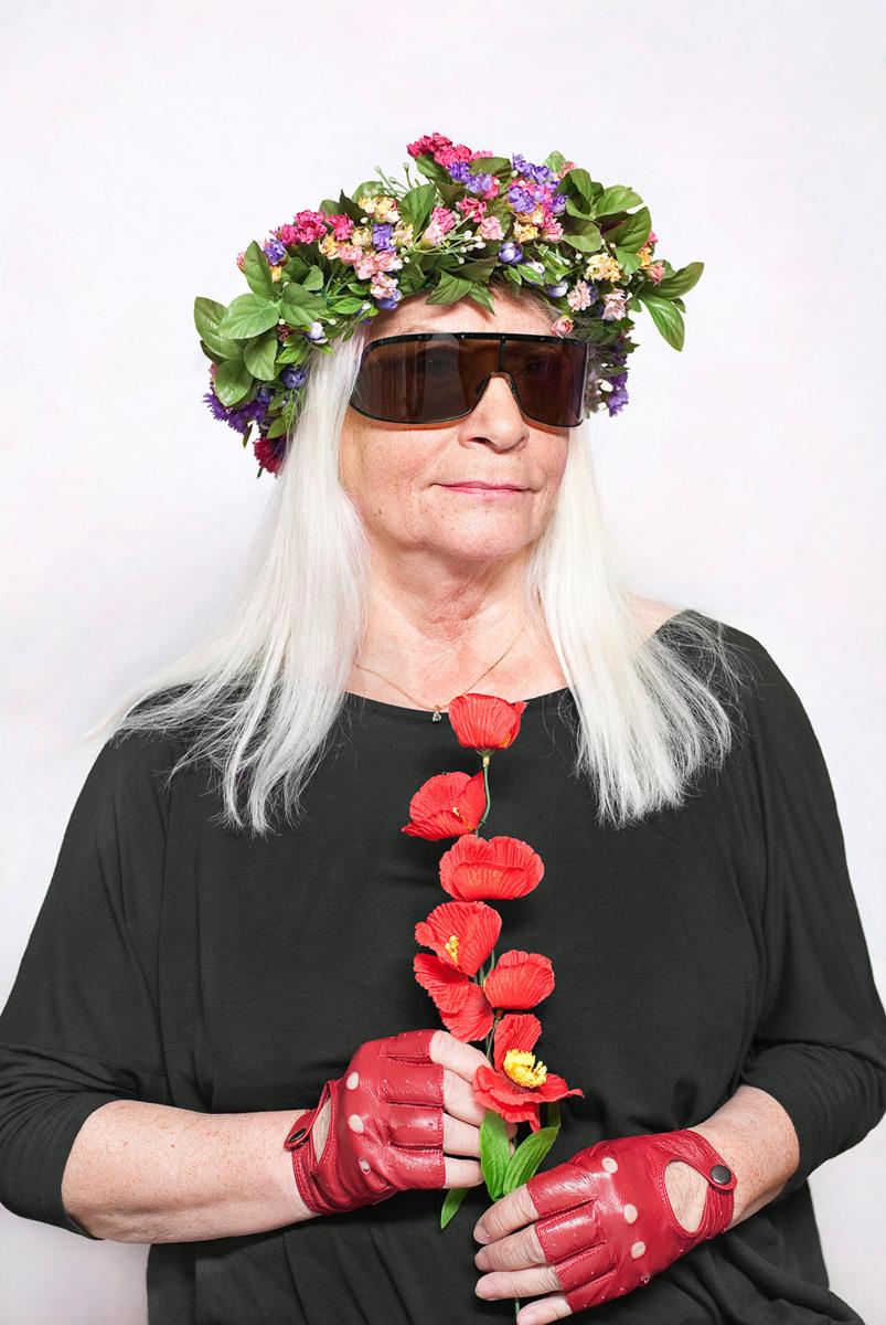 """Katarzyna Majak, """"Natalia LL – artystka"""", z cyklu """"Kobiety Mocy"""", dzięki uprzejmości artystki i galerii Porter Contemporary NY"""