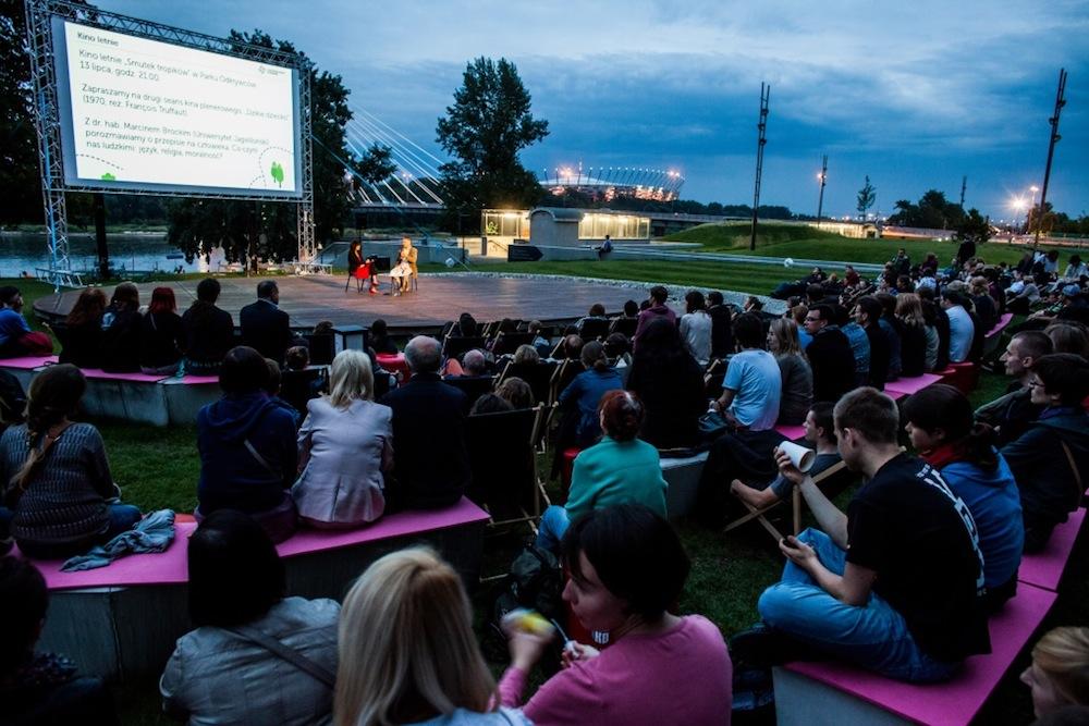 Kino Letnie Centrum Nauki Kopernik (źródło: materiały prasowe organizatora)
