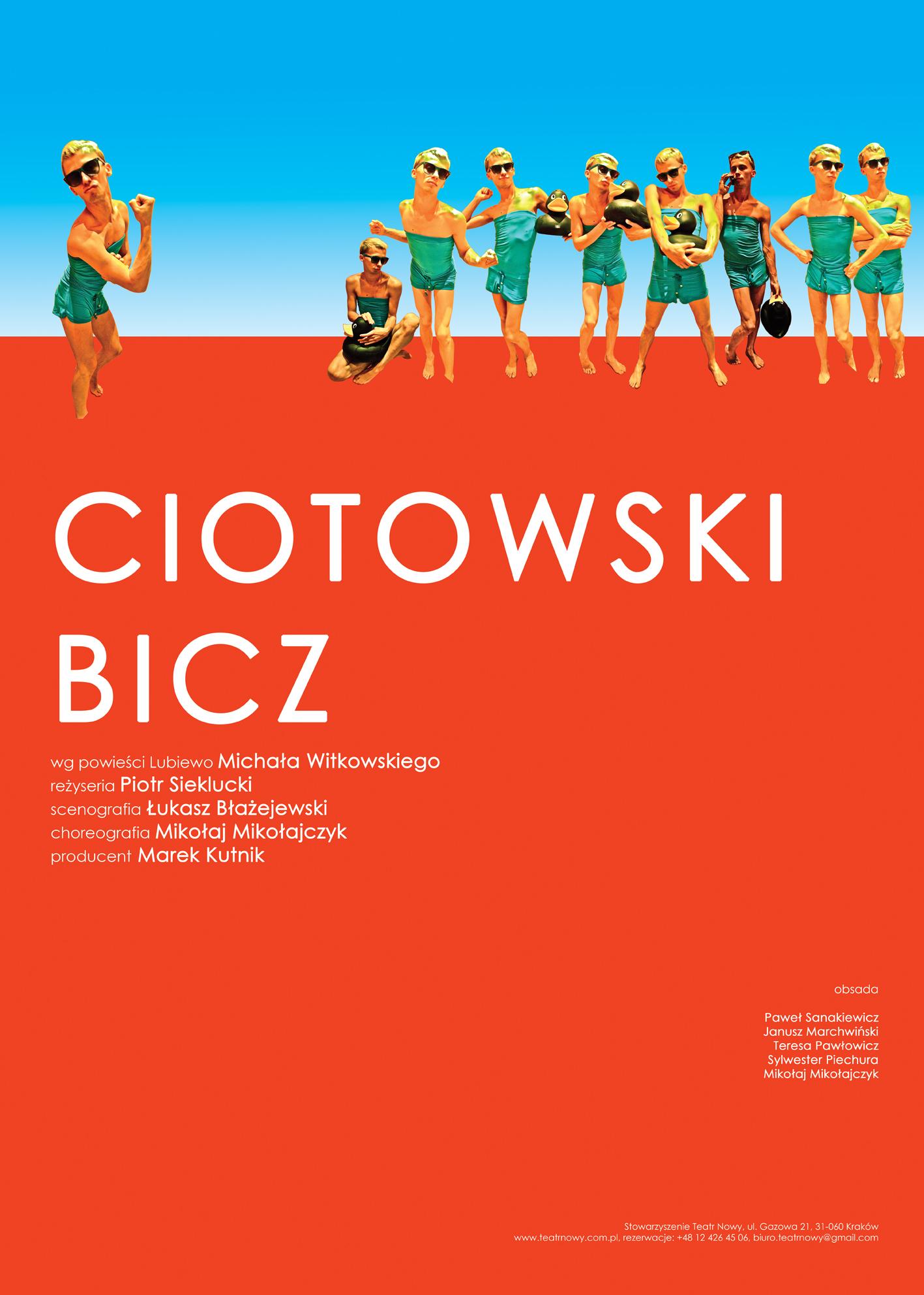 Lubiewo: Ciotowski Bicz, reż. Piotr Sieklucki, Teatr Nowy w Krakowie (źródło: materiały prasowe)