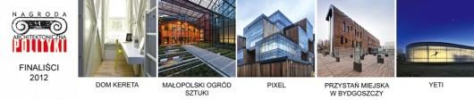 Obiekty nominowane do Nagrody Architektonicznej Polityki (źródło: materiały prasowe organizatora)