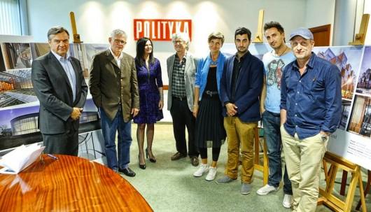 Jury Nagrody Architektonicznej Polityki (źródło: materiały prasowe organizatora)