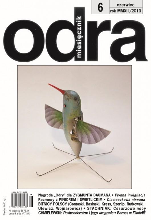 Okładka czerwcowego numeru Odry (źródło: mat. prasowe)