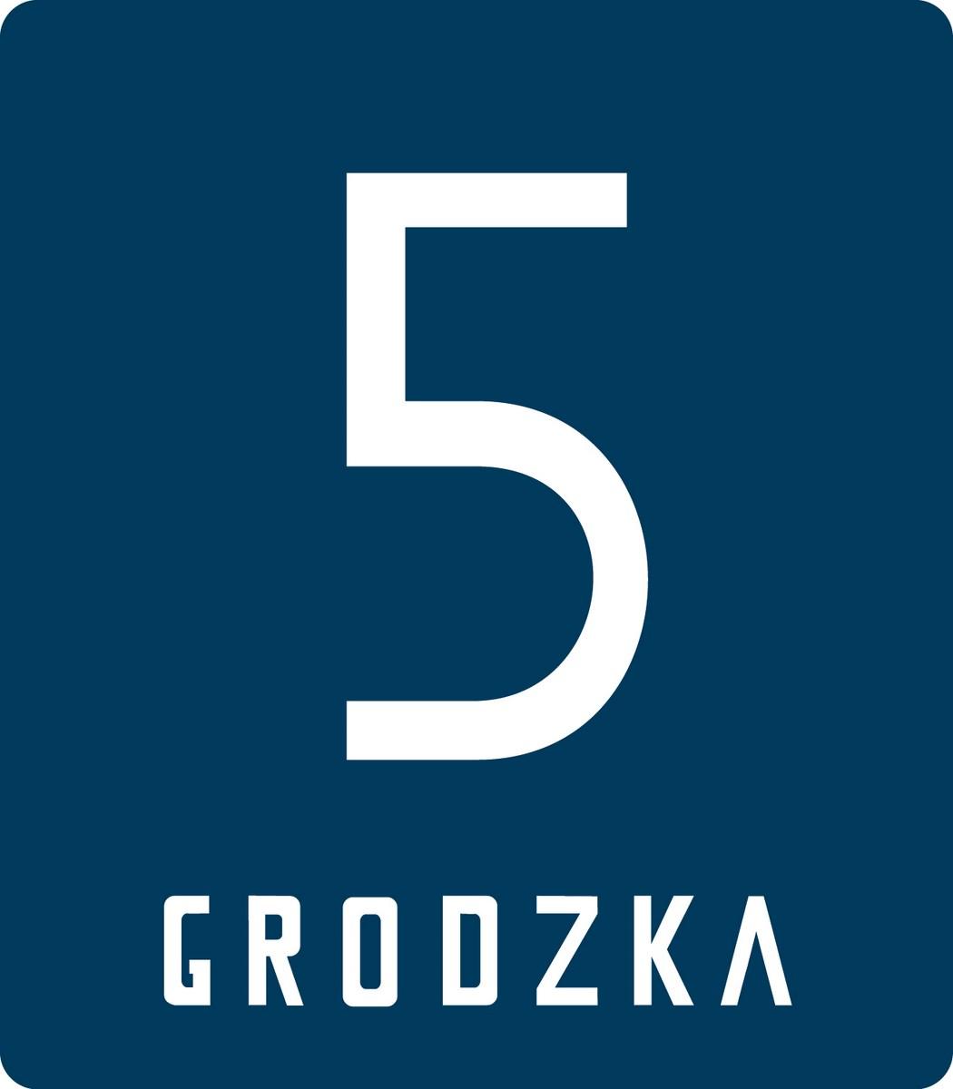 """Logo projektu """"Grodzka 5"""" (źródło: materiały prasowe organizatora)"""