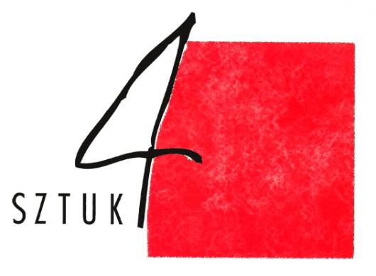"""Wystawa """"Sztuk 4"""", logo (źródło: materiały prasowe organizatora)"""