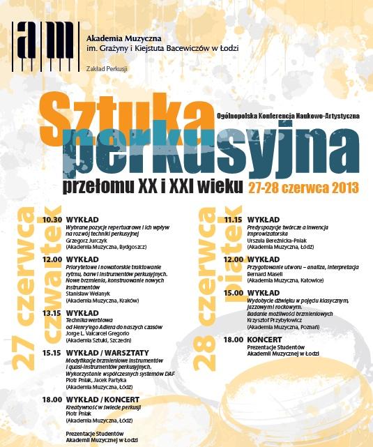 Plakat konferencji (źródło: mat. prasowe)