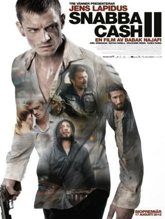 """Plakat filmu """"Szybki cash 2"""" (źródło: materiały prasowe dystrybutora)"""