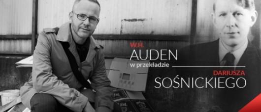 Auden w przekładzie Sośnickiego (źródło: mat. prasowe)