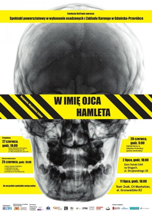 Plakat spektaklu (źródło: mat. prasowe)