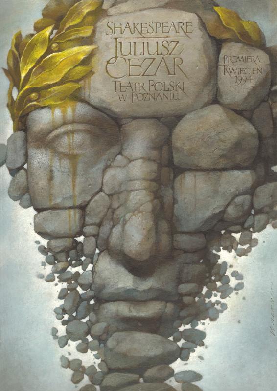 """Wiesław Wałkuski, """"Juliusz Cezar"""" (źródło: materiały prasowe organizatora)"""