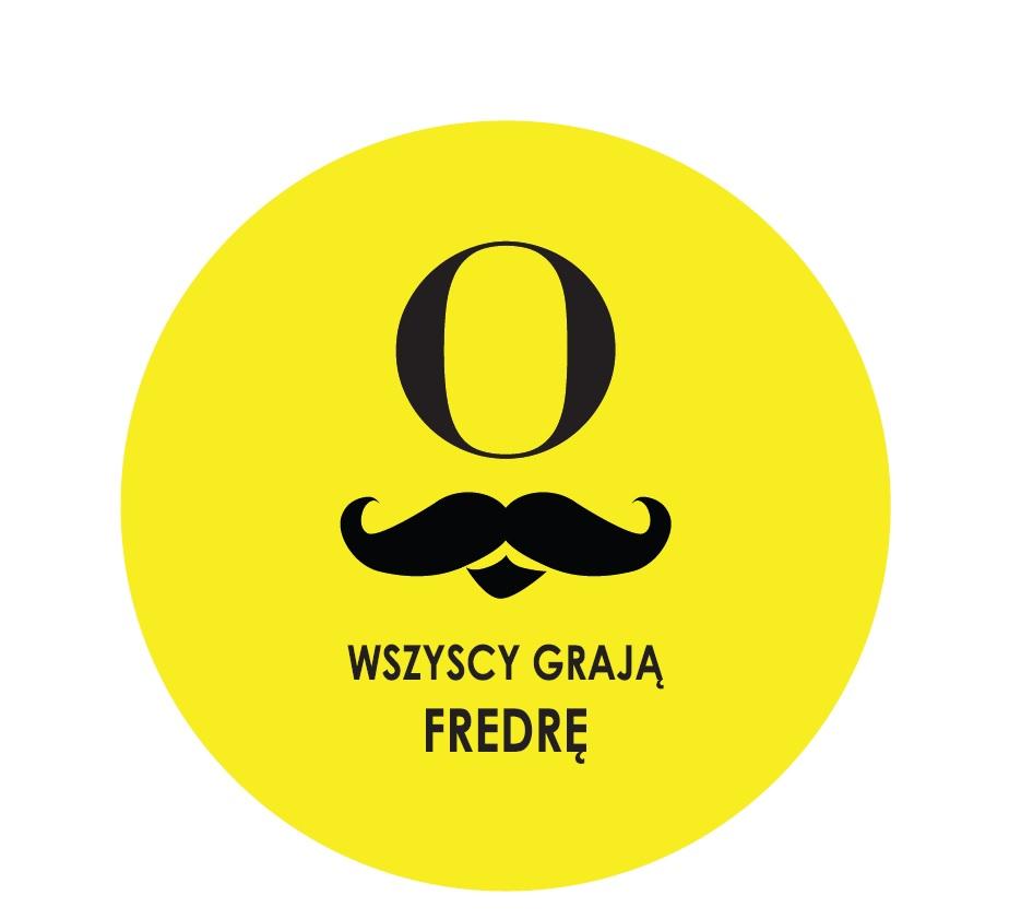 """""""Wszyscy grają Fredrę"""", logo (źródło: mat. prasowe)"""
