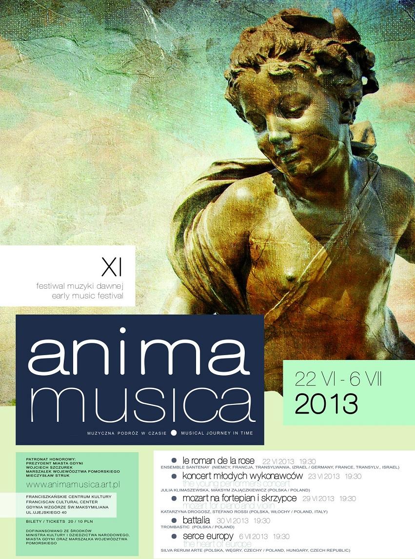 XI Festiwal Muzyki Dawnej Anima Musica (źródło: mat. prasowe)