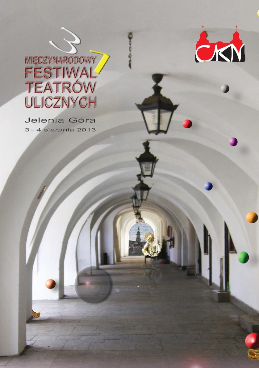 31. Międzynarodowy Festiwal Teatrów Ulicznych – plakat (źródło: materiały prasowe)