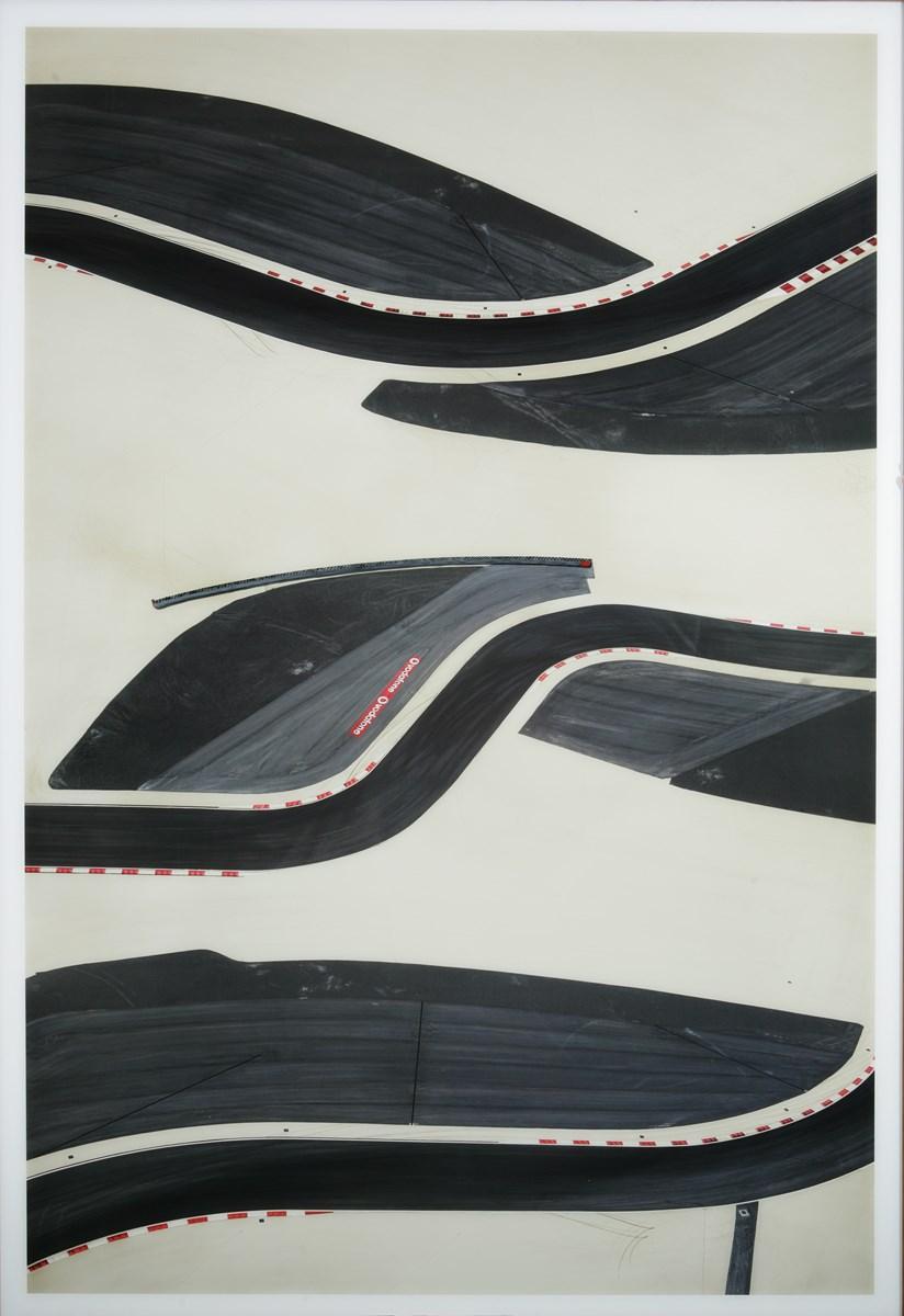 """Andreas Gursky, """"Bahrain II"""", 2005, z Kolekcji Grażyny Kulczyk (źródło: materiały prasowe organizatora)"""