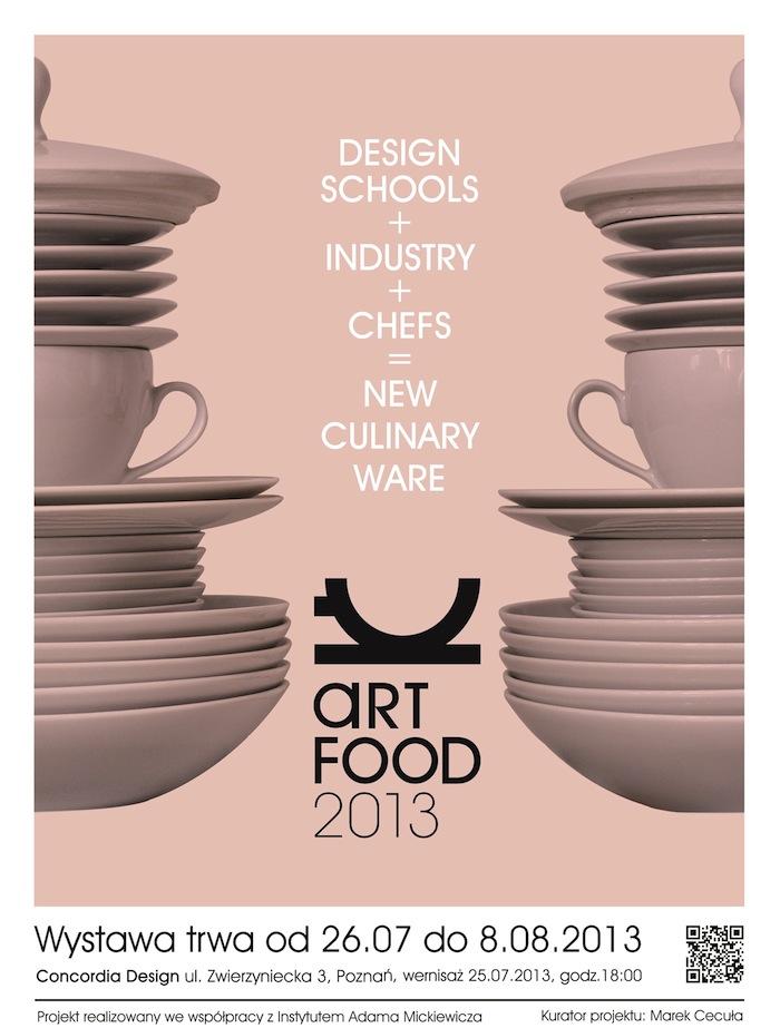 Art Food, plakat (źródło: materiały prasowe organizatora)