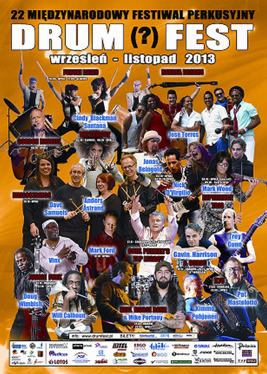 Drum Fest 2013 (źródło: materiały prasowe)