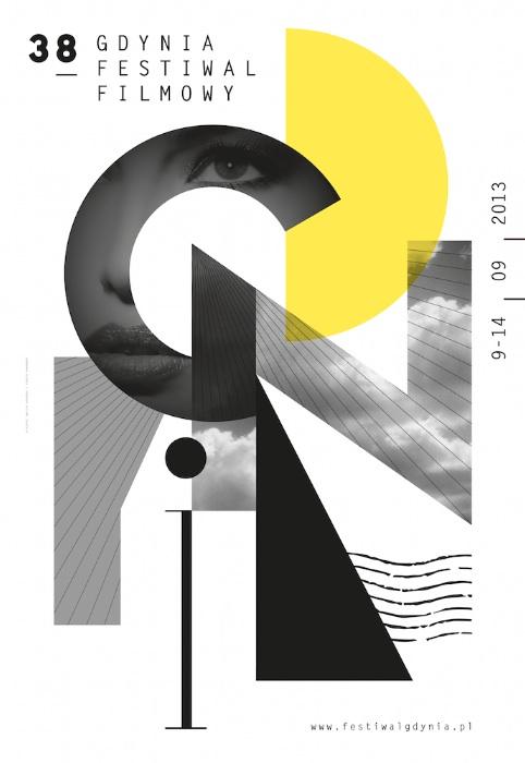 38. Gdynia – Festiwal Filmowy, plakat (źródło: materiały prasowe organizatora)