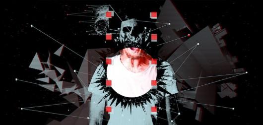 Rafał Śliwczyński, Electro-Madness 2, serigrafia, 210x100 cm, 2013 (źródło: materiały prasowe organizatora)