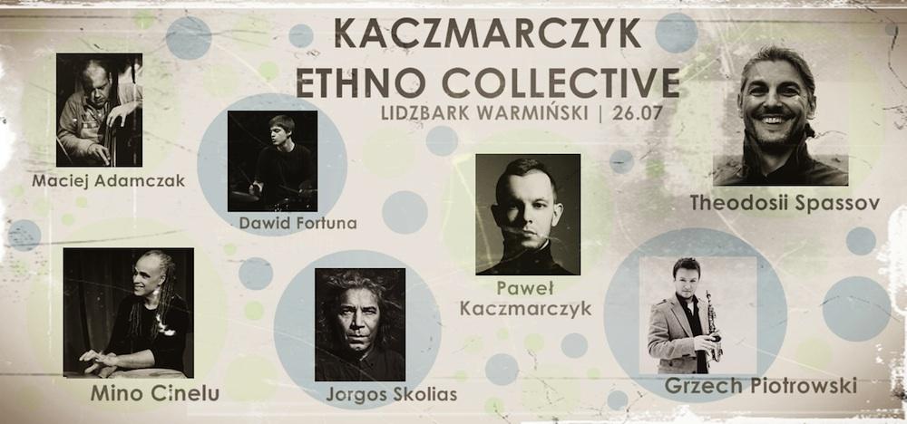 Kaczmarczyk Ethno Collective w Lidzbarku Warmińskim (źródło: materiały prasowe organizatora)