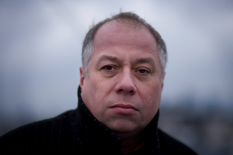 Krzysztof Varga, fot. Krzysztof Dubiel – Instytut Książki (źródło: materiały prasowe)