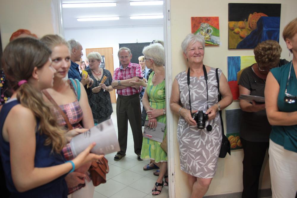 """Warsztaty """"Kultura dojrzałości"""", Galeria Sztuki w Legnicy (źródło: materiały prasowe organizatora)"""