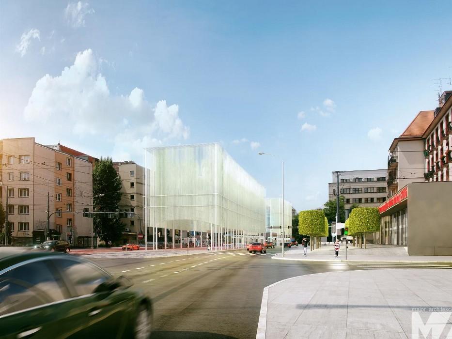 Projekt przebudowy Przejścia Świdnickiego we Wrocławiu, Major Architekci (źródło: materiały prasowe)