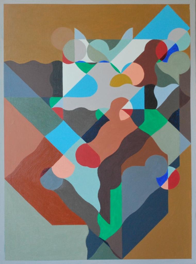 """Marek Dzienkiewicz, """"Geometria w kolorze"""" (źródło: materiały prasowe organizatora)"""