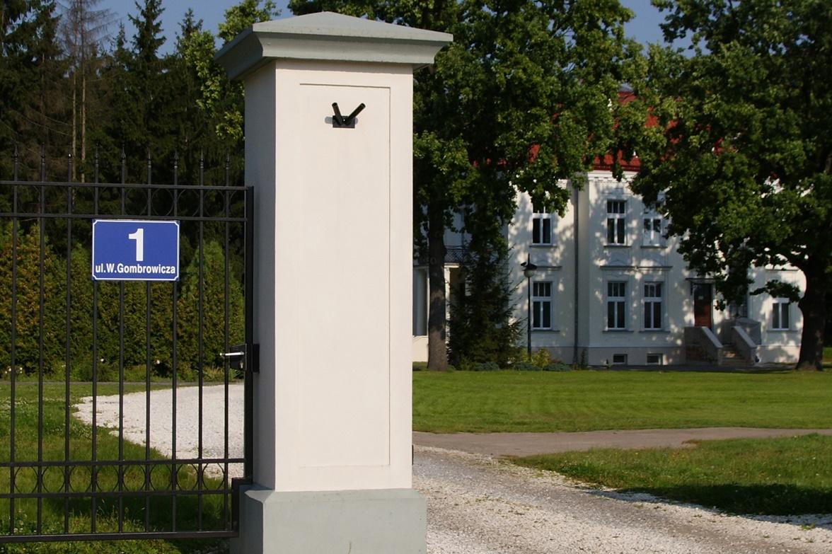 Ulica Witolda Gombrowicza we Wsoli, budynek Muzeum Witolda Gombrowicza (źródło: materiały prasowe)