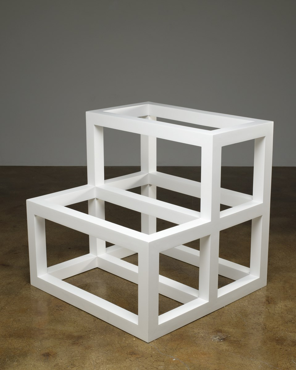 """Sol LeWitt, """"Form Derived from a Cube"""", 1983, z Kolekcji Grażyny Kulczyk (źródło: materiały prasowe organizatora)"""