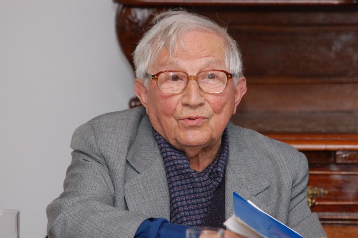 Tadeusz Różewicz, fot. Marta Jędras – Instytut Książki (źródło: materiały prasowe)