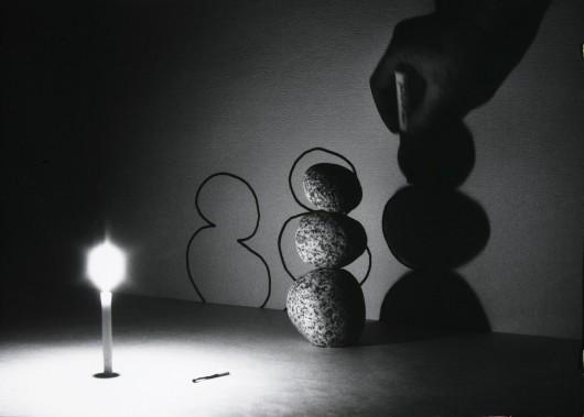 """Zygmunt Rytka, """"Obiekty chwilowe. Projekt tranformacji II"""", 1988, z Kolekcji Grażyny Kulczyk (źródło: materiały prasowe organizatora)"""