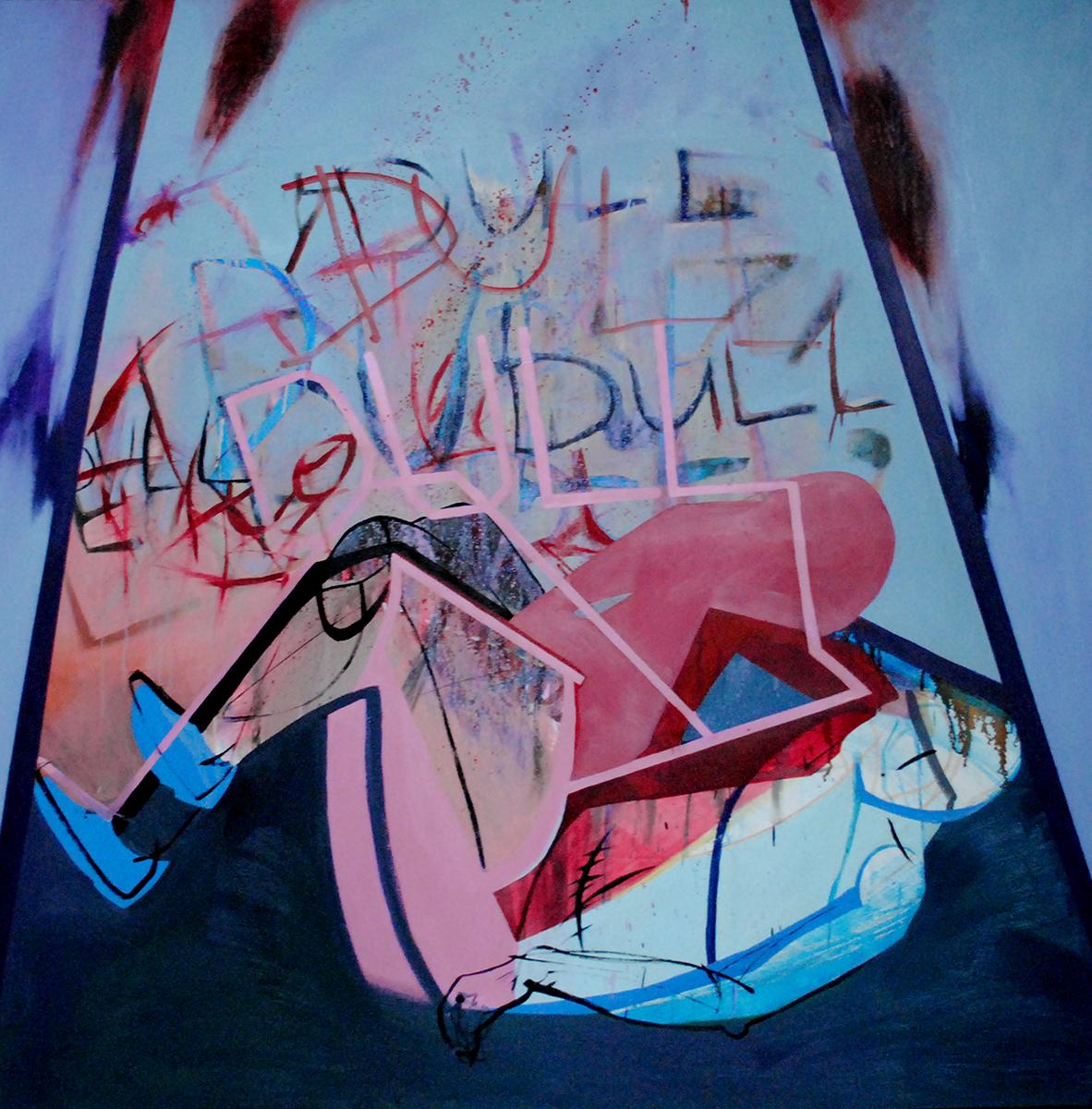 """Agata Czeremuszkin-Chrut """"Dull"""", olej na płótnie, 2012, Galeria BWA w Gorzowie Wielkopolskim"""