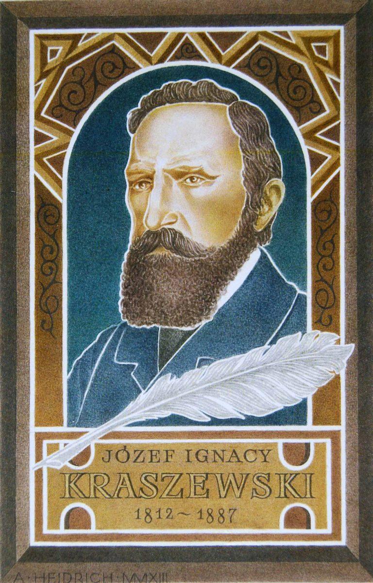 """Andrzej Heidrich """"J.I. Kraszewski"""", fot. Janusz Zimon, BWA Galeria Zamojska (źródło: materiały prasowe)"""