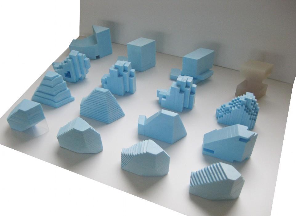 Budynek biurowy – model koncepcyjny, proj. MVRDV (źródło: materiały prasowe organizatora)