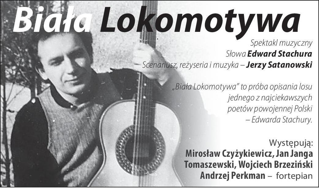 """""""Biała lokomotywa"""" w Teatrze Atelier w Sopocie (źródło: materiały prasowe)"""