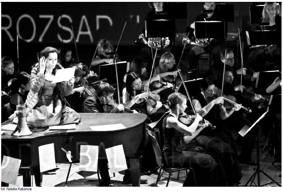 """Chopin bez fortepianu"", fot. Natalia Kabanow (źródło: mat. prasowe)"