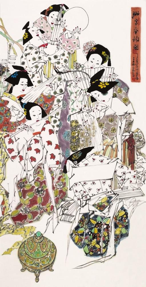 Wiosenna melodia w Pałacu Li, autor: Wang Xijing (źródło: materiały prasowe organizatora)