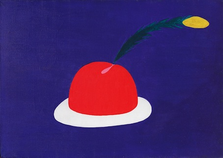 Jurry, Kapelusz na święto, olej, płótno, 62 x 95 cm, 1975 (źródło: materiały prasowe organizatora)