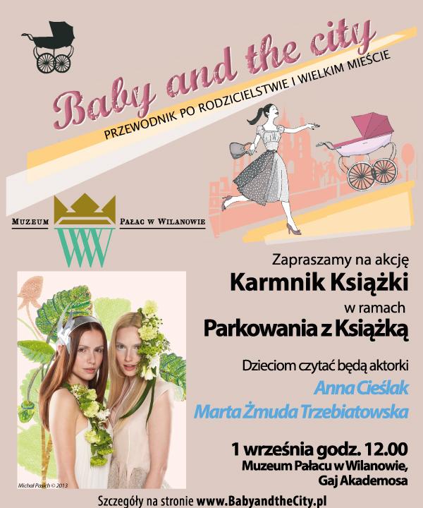 """""""Karmnik Książek"""" – plakat (źródło: materiały prasowe)"""