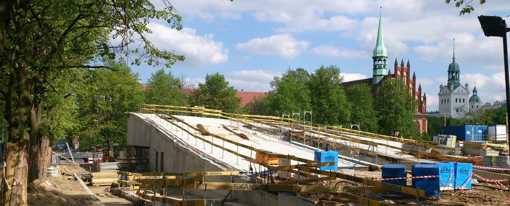 Budowa Centrum Dialogu Przełomy, proj. KWK Promes (źródło: materiały prasowe biura)