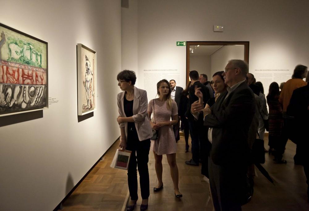 Wystawa Marka Rothki w Muzeum Narodowym w Warszawie, fot. Bartosz Bajerski (źródło: materiały prasowe organizatora)