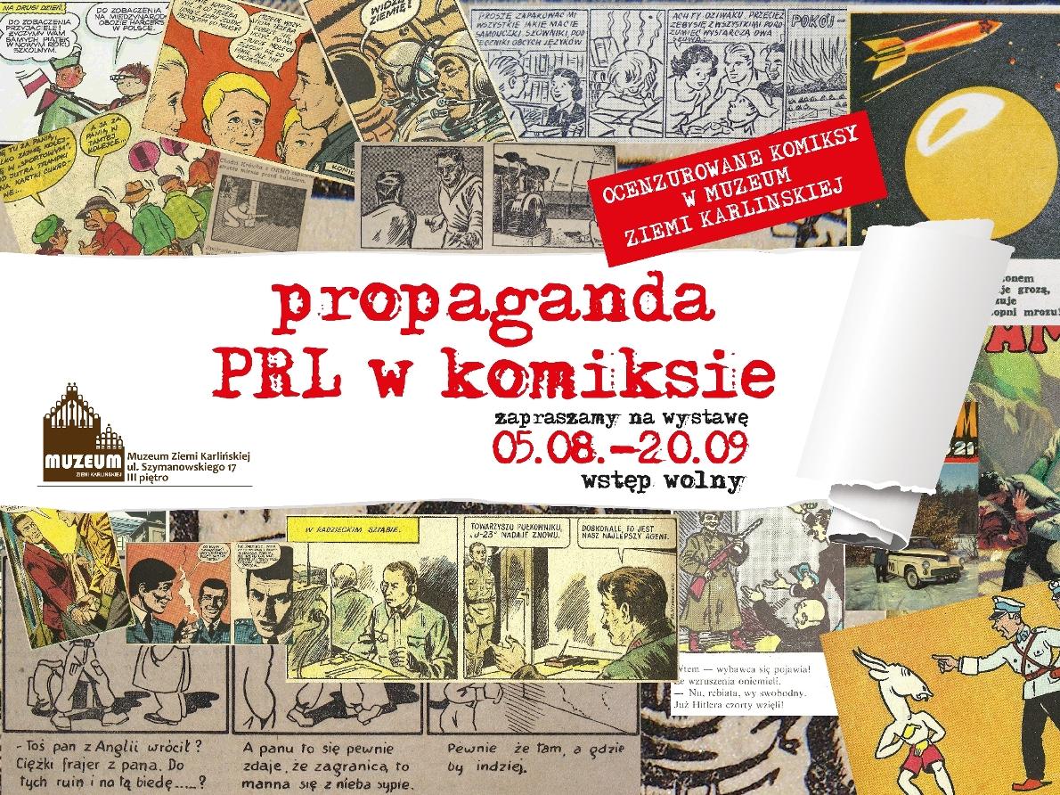 """""""Propaganda PRL w komiksie"""" (źródło: materiały prasowe)"""