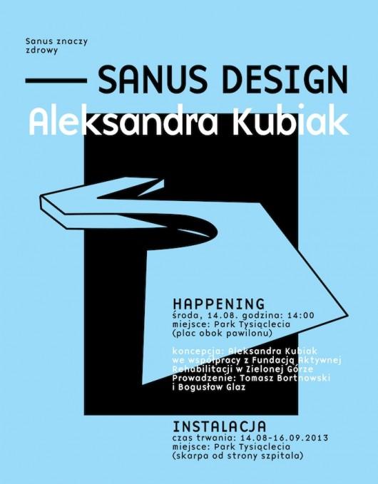 Sanus Design – happening i instalacja w Parku Tysiąclecia (źródło: materiały prasowe organizatora)