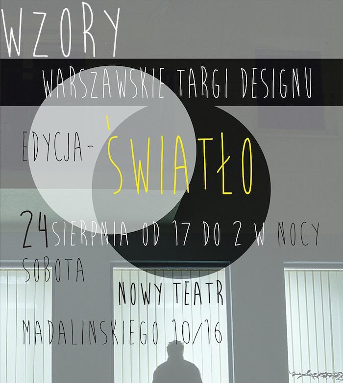 Warszawskie Targi Designu: Wzory – Światło (źródło: materiały prasowe organizatora)