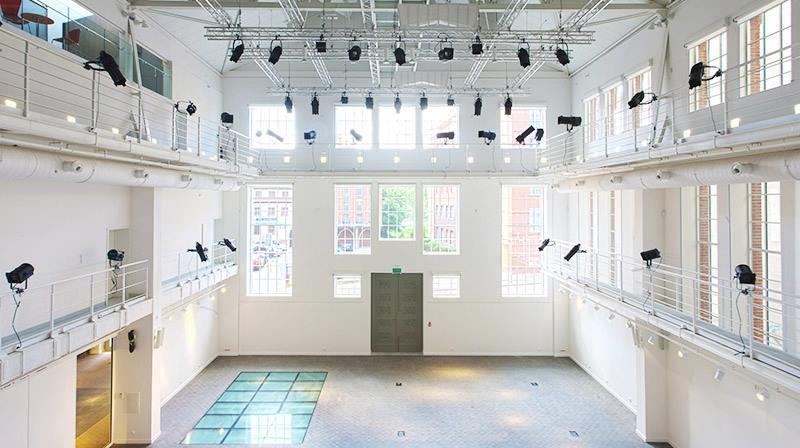 Przestrzeń wystawowa Trafostacji Sztuki, fot. Konrad Wielgoszewski (źródło: materiały prasowe)
