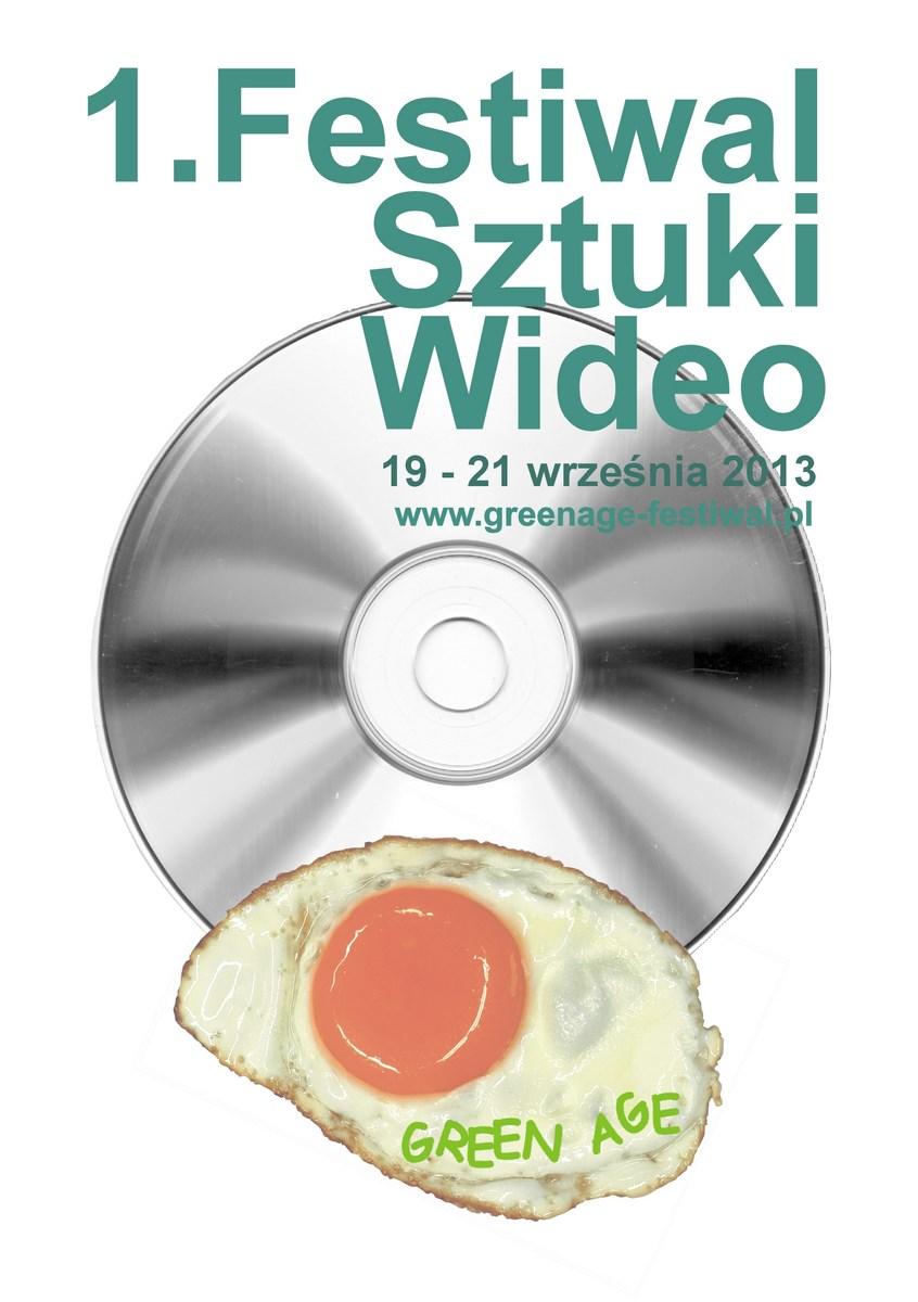 I Festiwal Sztuki Wideo Green Age w Gorzowie Wlkp., zaproszenie (źródło: materiały prasowe organizatora)