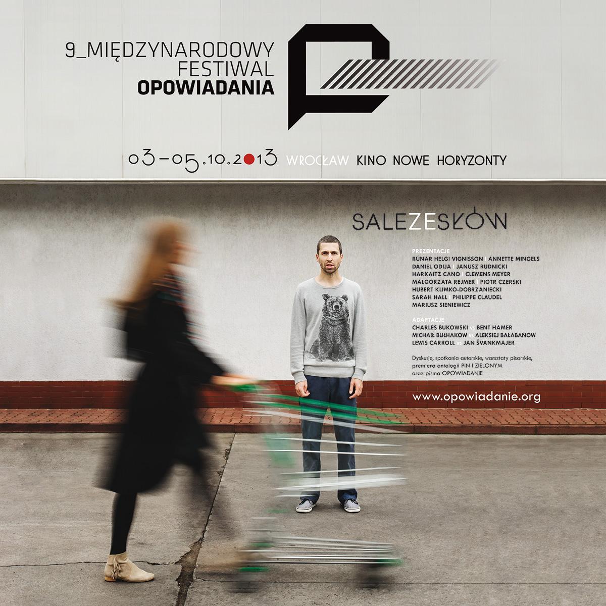 9. Międzynarodowy Festiwal Opowiadania – plakat (źródło: materiały prasowe)