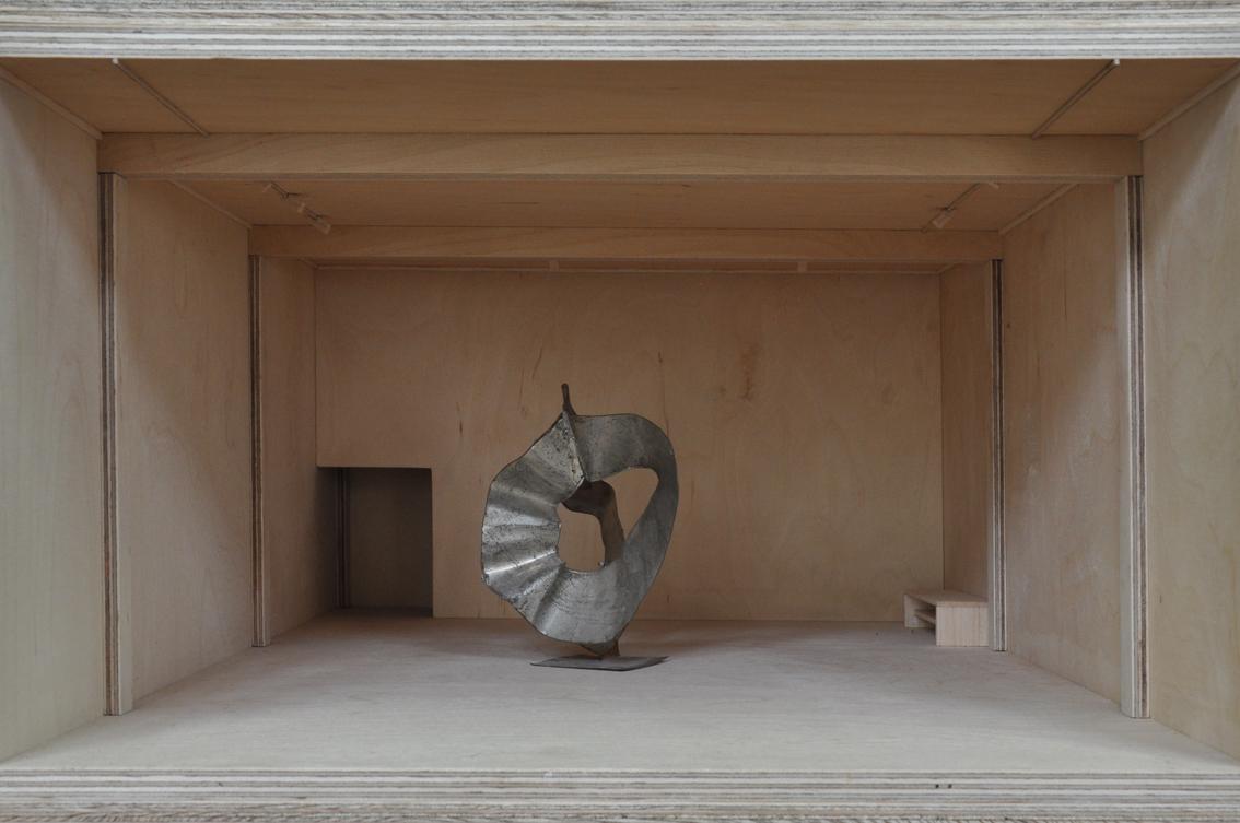 """Alicja Karska & Aleksandra Went, """"Franciszek Duszenko – Monumenty"""", 2012-2013, instalacja (źródło: materiały prasowe organizatora)"""